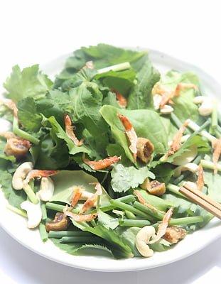 桜海老とカシューナッツのサラダ(薬膳とスープの会より)
