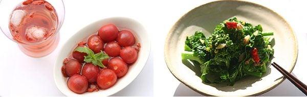 薬膳教室胡桃の庭の料理