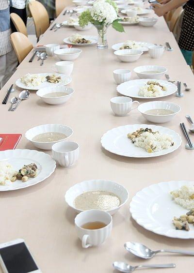 胡桃の庭 7月の料理会