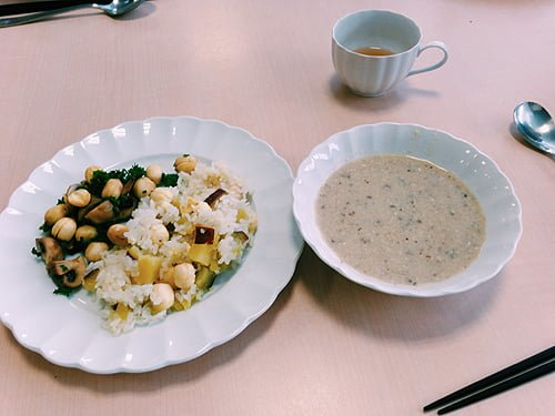 胡桃の庭の養生スープ