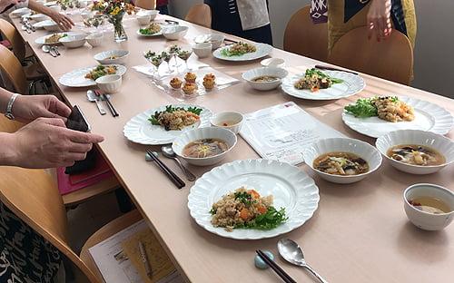 薬膳教室胡桃の庭 料理