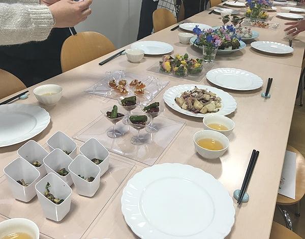 横浜の薬膳教室胡桃の庭料理会